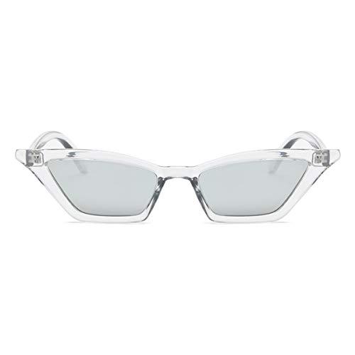 Sport-Sonnenbrillen, Vintage Sonnenbrillen, Vintage Sunglasses Women Cat Eye Luxury Sun Glasses Retro Small Red Ladies Sunglass Black Eyewear Oculos Csilver