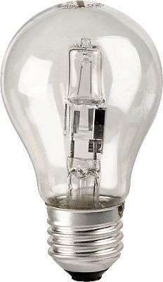 Preisvergleich Produktbild Glühlampe Halogen 28W Birne E27 2er