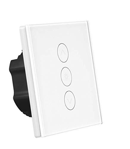 Greenbang Smart Light Dimmer, Wand Touch Control WiFi Lichtschalter Kompatibel mit Alexa Google Assistant IFTTT (Neutraldraht erforderlich) (1 Pack) (Schalter Ändern Sie Wand Licht)