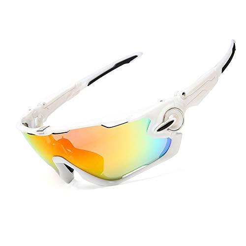 Daesar Schutzbrille fAnti Glanz Sonnenbrille Motorrad Brille für Herren