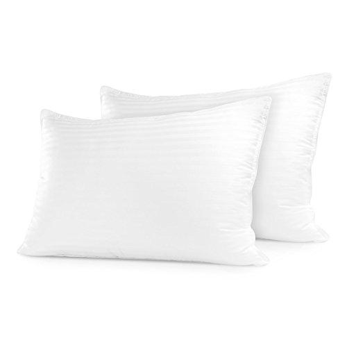 Sleep Restoration Gel-Kissen für die Schlaf-Wiederherstellung Hotelqualität, bequem und Plüsch, kühlend mit Gel-Faser, gefüllt mit Staubmilben - resistent Standard weiß -