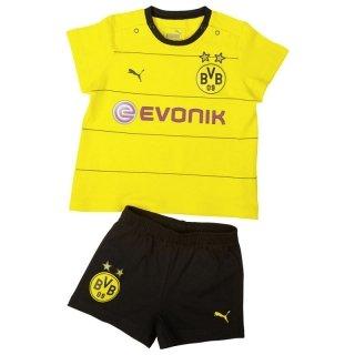 PUMA Baby Set BVB Home Babykit with Socks und Sponsor, Cyber Yellow/Black, 56, 748014 01