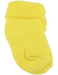 Calcetines gruesos de colores pastel para bebés y niñas recién nacidos  hasta 6 meses 27adfa3fd600