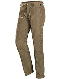 Baleno Sheringham - Pantalones de Caza para Mujer, Color Verde (Light Khaki),
