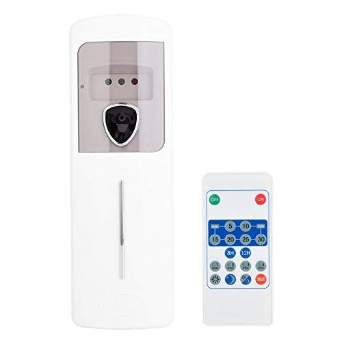 Dispensatore di deodorante per ambienti montaggio a parete kit spray automatico sensore di luce per profumo aerosol dispenser per casa interno hotel uffici(remote control)