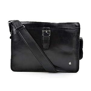 Leder umhängetasche ipad tasche notebook tasche damen schultertasche aktentasche messenger ledertasche tablet tasche…