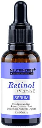 Neutriherbs Superior Retinol Serum - Intensive Wrinkle Repair Retinol Vitamin A Retinol Antioxidant Serum For