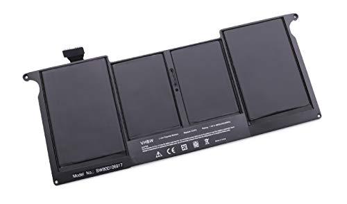 vhbw Batterie Li-Ion 4800mAh (7.3V) pour notebook, ordinateur Apple MacBook Air 11\
