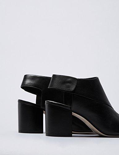 Ouvertes Labo Talons Find Black Noir Femme À Bottines F685qwO