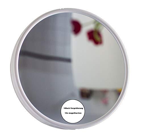 Stellan - Espejo cosmético con 10 aumentos, 10 aumentos, Ventosa, Espejo de Maquillaje, Espejo de Maquillaje...