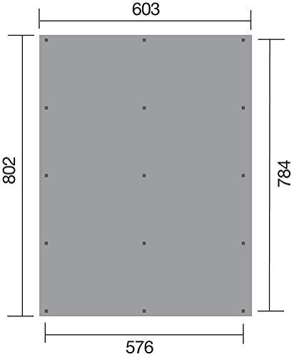 WEKA Sockelmaß Tiefe: 209 cm