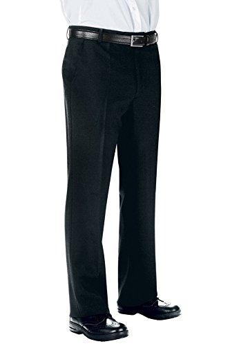 Isacco Pantalone Uomo senza Pinces - Isacco Nero - 23921