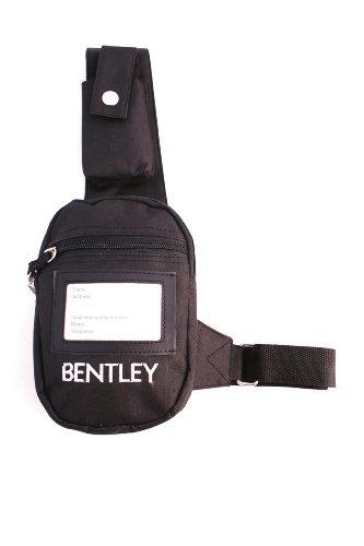 Charles Bentley Pferdepflege Beleg Nicht Schultertasche mit verstellbarem Gurt - Mobile Phones Keys Karten in Schwarz