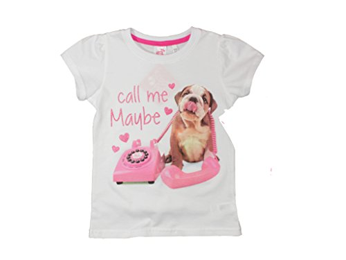 Studio Pets T-Shirt (128, call me Maybe - weiß)