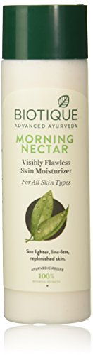 Bio Morning Nectar Flawless SKIN Lotion for all Skin Types, 190ml