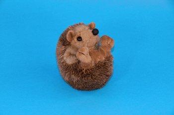 Plush Soft Toy Curled Hedgehog. 13cm.