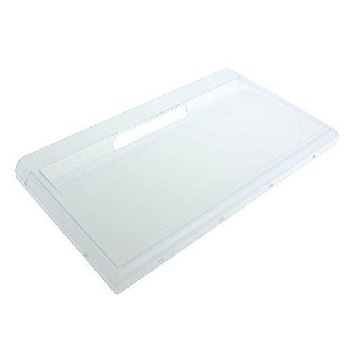 Hotpoint Kühlschrank-gefrierschrank-schubladenfront Verkleidung / Deckel Klappe (weiß, 430mm x 240mm)