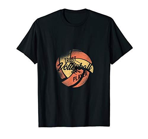 Vertrauen Sie mir, ich bin ein Spieler - Volleyball T-Shirt -