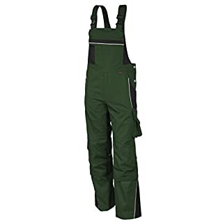 QUALITEX arbeits-latzhose Pro Green/Black sz. 68