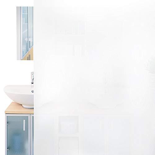 Rabbitgoo Pellicola Privacy Pellicola per Vetri 44.5x200CM Anti-UV Controllo di Calore Pellicola Vetri Per Ufficio Bagno Camera da Letto Sala di Riunione