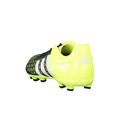 Adidas Enfants Fussballschuhe Ace 15.3 HG Jr Noir - core black/ftwr white/solar yellow