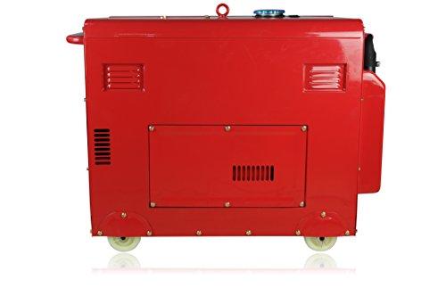 Kraftherz Diesel Stromerzeuger KH6600D Test - 3