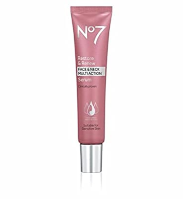 Boots No 7 Restore & Renew Face & Neck MULTI ACTION Serum, 30 ml by Boots No 7