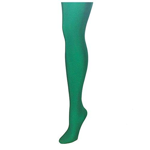 Alan Sloane solide Herrenstrumpfhose - Kelly-Grün (m) ()