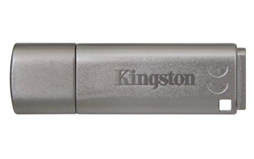 Kingston DataTraveler Locker Plus G3 USB 3.0 16GB Pen Drive (Grey)