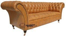 Chesterfield Balmoral Gartenbank 3-Sitzer Sofa, Zweisitzer, Old English Wildleder