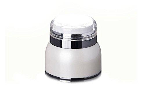 30ml/30g Unzen () nachfüllbar gehobenen creme Jar Flasche mit Squeeze Pumpe/Make-up Kosmetik Face Cream Container Travel Größe Flasche für Beauty Gele Seren und Lotionen (20 Squeeze-flasche Unzen)