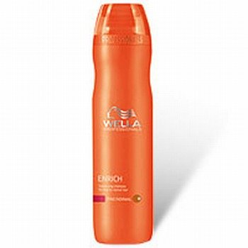 Wella Professionals Enrich Moisturizintg & Straighting Shampoo For Dry & Damaged Hair - 250Ml