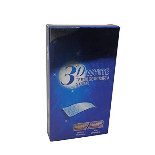 Providethebest 14 Pares/Set Dientes Tiras de blanqueamiento de Dientes 3D Ultra Gel blanqueador blanquear los Dientes Oral Care Dental Higiene del Producto