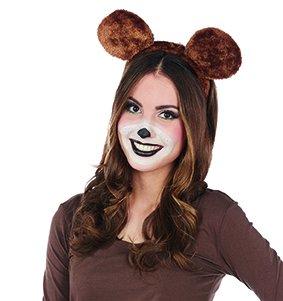 Bären Kostüm Ohren - Bär Haarreif