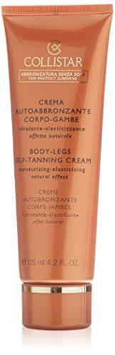 Crema autoabbronzante corpo-gambe di collistar, autoabbronzante donna - tubetto 125 ml.