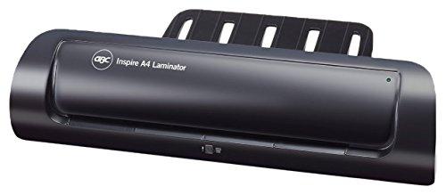 GBC Inspire A4-Laminiergerät (mit Ein-Knopf-Bedienung) schwarz