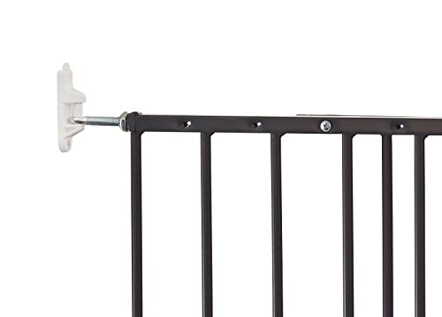Baby Dan Multidan Metall Tür und Treppenschutzgitter, 62.5 – 106.8 cm, schwarz - 3