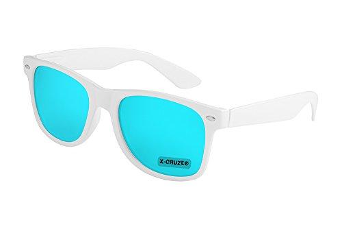 X-CRUZE 8-106 X0 Nerd Sonnenbrille Retro Vintage Design Style Stil Unisex Herren Damen Männer...
