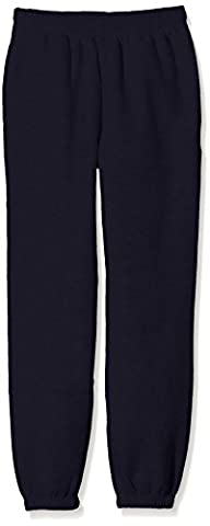 Fruit of the Loom Jungen Sporthose SS114B, Blau (Deep Navy), Gr. 9-11 Jahre