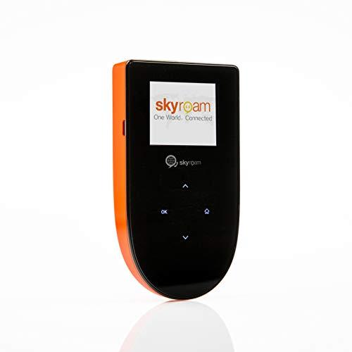 Skyroam Mobiler WLAN Hotspot: Globale Daten ohne Roaming // Tragbarer Router für Geschäftsreise und Urlaub // Im Internet ohne SIM-Karte in über 130 Ländern surfen