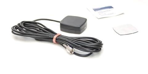 kleine GPS Antenne mit Magnetfuß und Klebepad SMA/M Stecker (Lkw Heckscheibe)