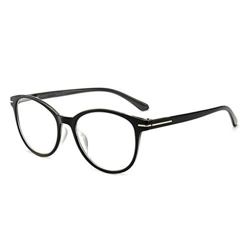 NKYSM Unisex-Lesebrille Trendy Brillengestell mit runder Fassung