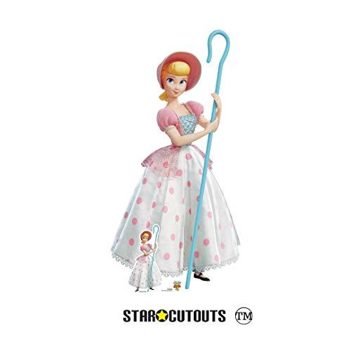 Star Cutouts SC1360 Dekofigur Toy Story 4, mit Pappaufsteller in Pink und Weiß, 149 cm hoch, mehrfarbig (Toy Girl Story In)