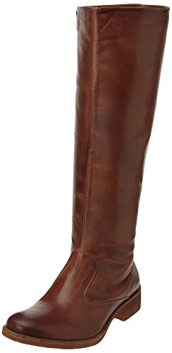 9 Xqvfapwi London Femme Kickers Bottes Marron High 1BTdqZY