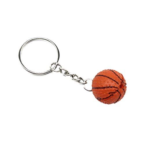 Schlüsselbund Tasche Anhänger Ball Ornamente Basketball Schlüsselbund ()