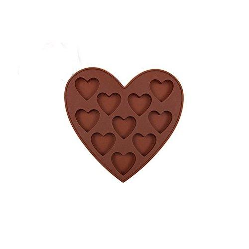 Eisform, Chshe, Eiswürfelschale Aus Silikon, Easy Maker, Würfelform In Herzform, Geschenk Zum Valentinstag
