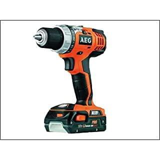 AEG BS18G Cordless Drill Driver Lithium 18.0V (includes 2 batteries)