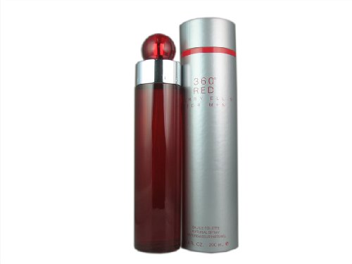Perry Ellis 360 Red By Perry Ellis For Men. Eau De Toilette Spray 6.7 oz