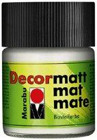 Marabu Decormatt Acryl, Hellgrau 278, 50 ml