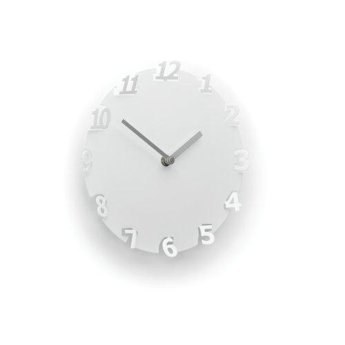 Umbra Numero Horloge murale, Blanc